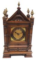 Superb Antique Solid Walnut 8-day Mantel Clock Ting Tang Striking Bracket Clock by W&H (3 of 12)