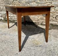 Small Antique French Elm Farmhouse Table (15 of 22)