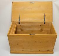 Large Victorian Pine Blanket Box/Chest (3 of 16)