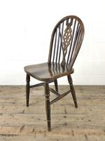 Set of Six 20th Century Wheelback Chairs including Two Carvers (12 of 20)