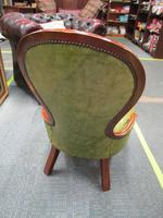 Continental Style Leather Nursing Chair (6 of 6)