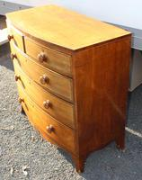 1900s Quality Mahogany Chest of Drawers with Inlay (4 of 4)