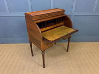 Maple & Co Inlaid Mahogany Tambour Cylinder Desk (17 of 22)
