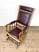 Antique Gentleman's Rocking Chair (7 of 9)