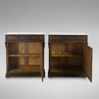 Pair of Spanish Rosewood Pier Cabinets (4 of 4)