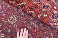 Antique Tekke Turkman rug 190x137cm (2 of 6)