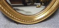 Edwardian Oval Gilt Mirror (3 of 4)