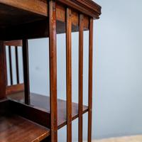 19th Century Revolving Bookcase (4 of 7)