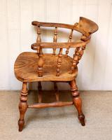 Elm And Beech Smokers Bow Armchair (4 of 10)