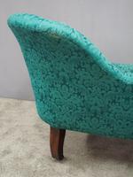 Victorian Mahogany Double Ended Sofa (9 of 9)