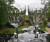 10 Val Saint Lambert Charles X Water Goblets (3 of 5)