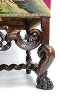 Fine Set of Four Late 17th - Early 18th Century Walnut Chairs (5 of 14)
