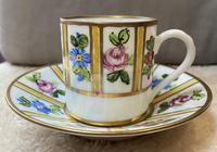 Limoges Coffee Cup & Saucer (2 of 3)