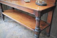 Large Antique Country House Mahogany Server / Console (4 of 7)
