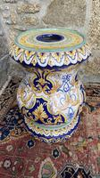 Montagnon French Majolica Jardiniere on Stand (13 of 16)