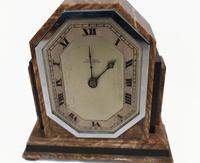 Art Deco Mantle Clock Marble Period 1920s Swinden Birmingham (3 of 8)