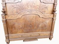 Victorian French Solid Elm Bed Frame (6 of 8)
