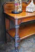 Large Antique Country House Mahogany Server / Console (5 of 7)