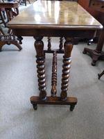 Burr Walnut Side Table (3 of 5)