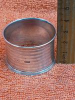Antique Sterling Silver Hallmarked Napkin Ring 1921 E S Barnsley & Co (6 of 8)