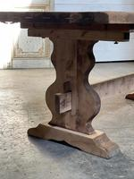 French Bleached Refectory Farmhouse Dining Table (18 of 21)