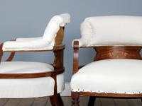 Pair of Edwardian Parlour Chairs (3 of 5)