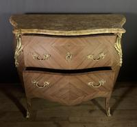Superb Bleached Walnut Bombe Commode (8 of 9)