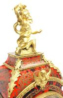 Wow! Phenomenal French Boulle Mantel Clock Rare 8-day Striking Bracket Clock Superb Condition (11 of 22)