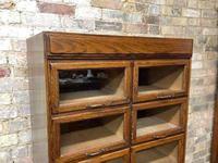 1930s Dark Oak Haberdashery Cabinet (2 of 3)