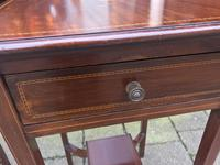 Pair of Inlaid Edwardian Bed Tables (19 of 24)