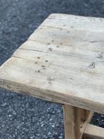 Large French Rustic Bleached Oak Farmhouse Dining Table (8 of 36)