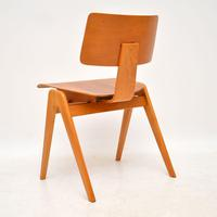1950's Set of 6 Robin  Day Hillestak Dining Chairs for Hille (7 of 9)