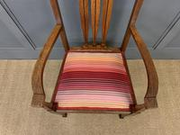 Arts & Crafts Inlaid Armchair (6 of 9)