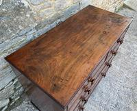 Antique Mahogany Chest of Drawers on Bracket Feet (9 of 12)