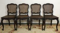 Antique French Set Of 8 Bergère Cane Dining Chairs (6 of 12)