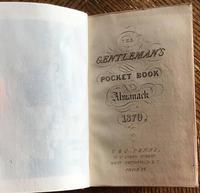 1870 The Gentleman's Pocket Book Almanack (2 of 8)