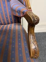 Comfortable French Wing Armchair (9 of 15)