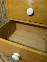 Victorian Stripped Pine Chest with White Porcelain Knobs - Carriage Paid  Most Areas (5 of 7)