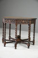 Victorian Octagonal Centre Table (7 of 12)