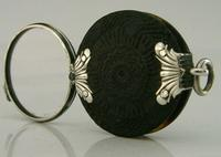 Rare Georgian English Solid Sterling & Horn Silver Magnifying Glass c.1800 (9 of 9)