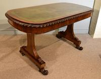 William IV Rosewood Writing Table (6 of 7)