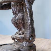 Black Forest Carved Bear Hall Stand (7 of 9)