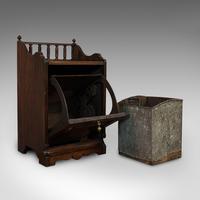 Antique Purdonium, English, Rosewood, Fireside, Cabinet, Edwardian c.1910 (2 of 11)