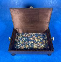 Georgian Kingwood & Tunbridge Ware Table Box (8 of 14)