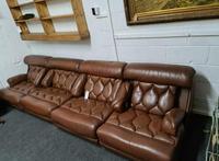 Retro Mid Century Modular Tetrad Suite Sofa (6 of 9)