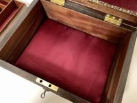 Antique Rosewood Jewellery Box (4 of 13)