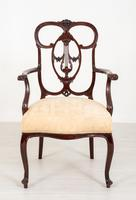 Elegant Mahogany Chippendale Style Carver Chair (4 of 7)
