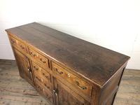 Antique George III Oak Dresser Base (3 of 7)