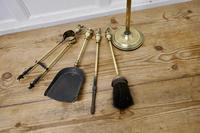 Heavy Quality Brass Fireside Companion Set, Fireside Tools (4 of 4)