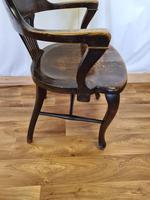 Oak Desk Chair (6 of 11)